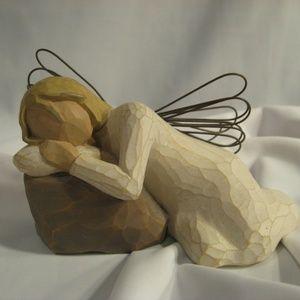 Demdaco Willow Tree DREAMING ANGEL Figurine
